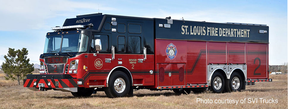 St. Louis Rescue 2 courtesy of SVI Trucks