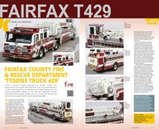 Fairfax T429 featured in Truck Model World