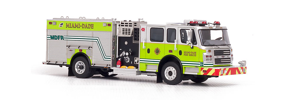 This MDFR Engine scale model is museum grade.