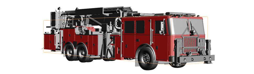 Kentland Tower 33 in 3D stage