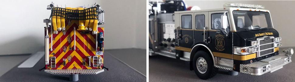 Closeup pictures 7-8 of Jack Daniel's P-7 Pumper scale model