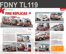 FDNY Tower Ladder 119 featured in Truck Model World