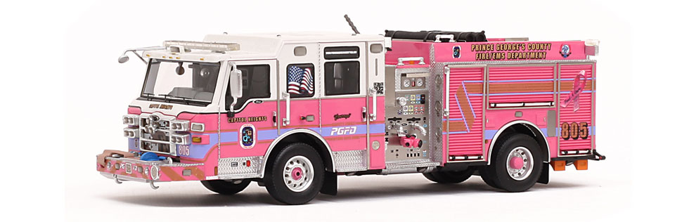 PGFD Courage E805 features 379 individual parts