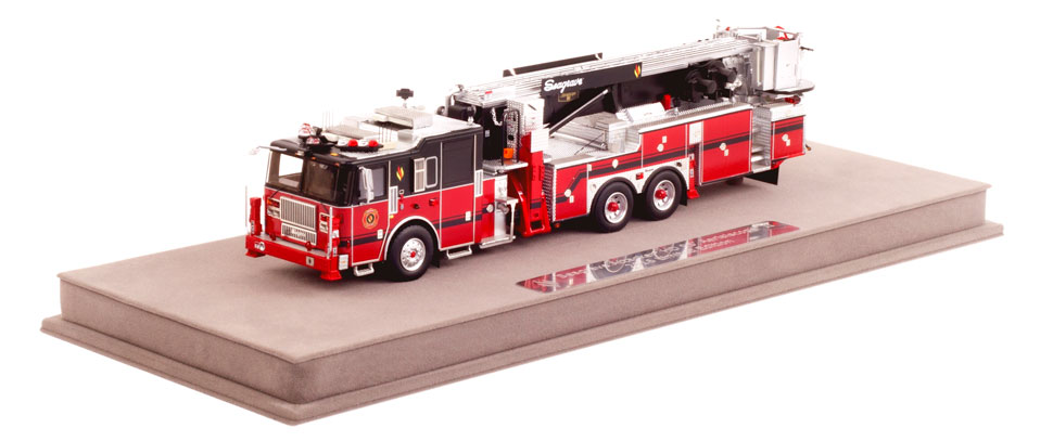 Seagrave 2016 Limited Edition Aerialscope includes a fully custom display case.