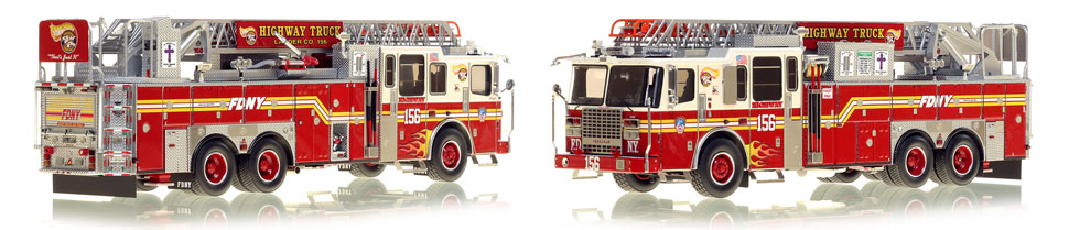 Brooklyn's Ladder 156 now available as a museum grade replica