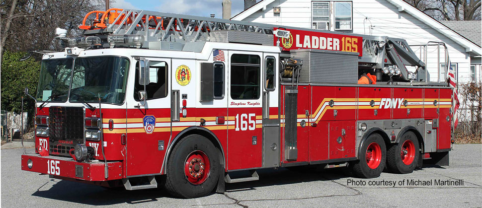 FDNY Ladder 165 courtesy of Michael Martinelli