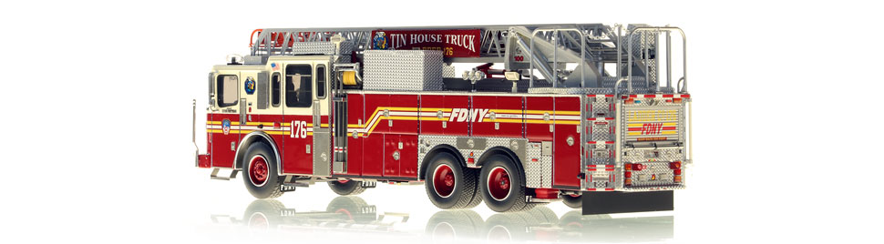 Production of Ladder 176 is limited to 75 units.