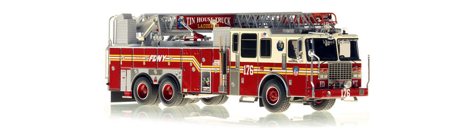 Ladder 176 features a precise, 0.6mm stainless steel ladder
