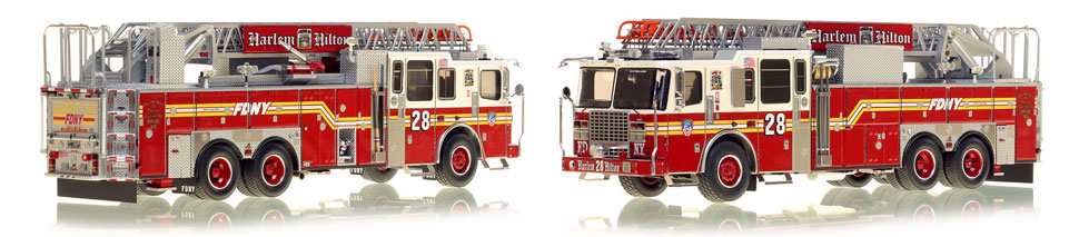 Manhattan's Ladder 28 now available as a museum grade replica