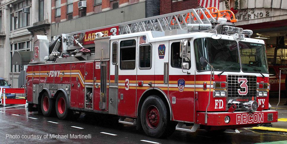 FDNY Ladder 3 courtesy of Michael Martinelli