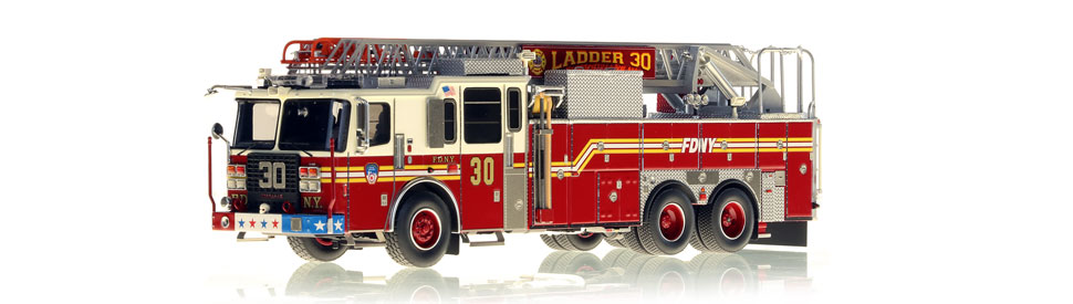 Ladder 30 features a precise, 0.6mm stainless steel ladder