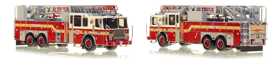 Ladder 32 in the Bronx is now available as a museum grade replica
