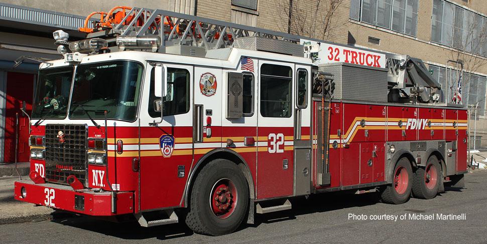 FDNY Ladder 32 courtesy of Michael Martinelli