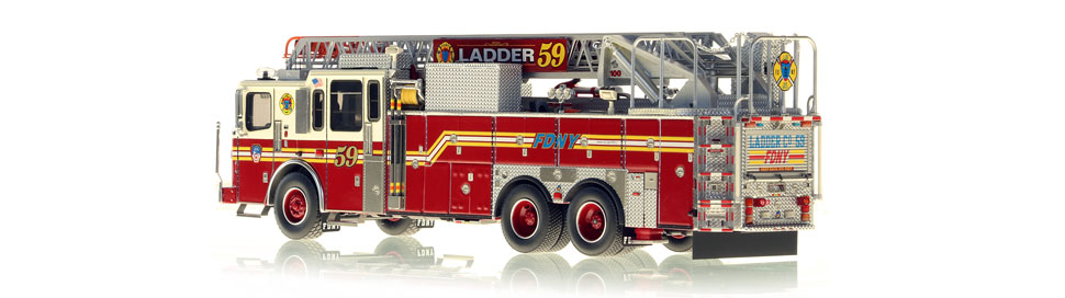Production of Ladder 59 is limited to 75 units.