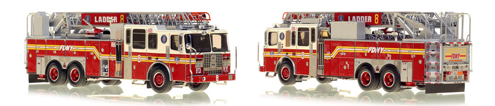 Manhattan's Ladder 8 now available as a museum grade replica