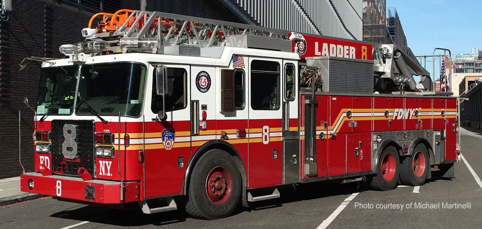 FDNY Ladder 8 courtesy of Michael Martinelli