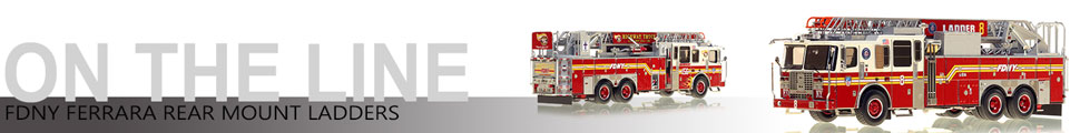 FDNY Ladder 3 scale model assembly pictures