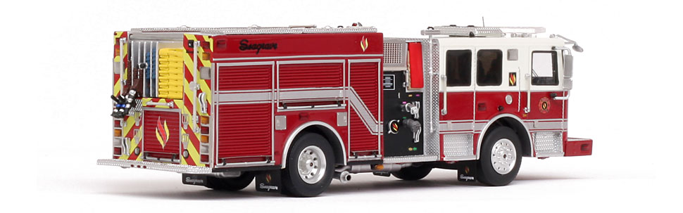 Seagrave Marauder II Limited Edition features museum grade precision.