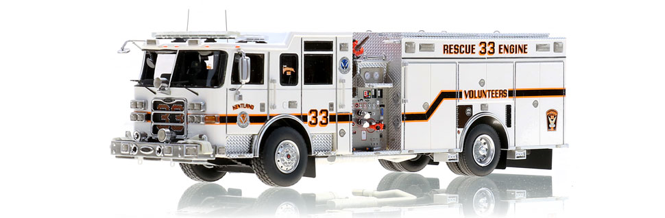 Kentland Rescue Engine 33 scale model