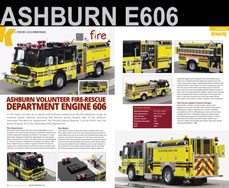 Ashburn Engine 606 scale model