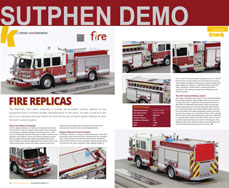 Sutphen Monarch Engine Demo scale model