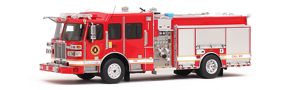 Columbus Division of Fire features over 400 hand-crafted parts.