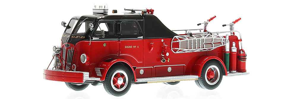 Each CFD Autocar Squad 4 features museum grade precision and accuracy.
