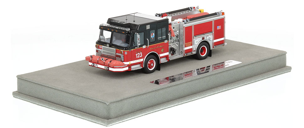 CFD Engine 123 includes a fully custom display case!