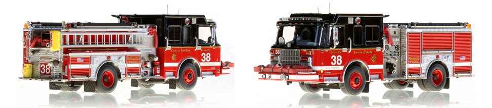 CFD Engine 38 is hand crafted and includes a custom case