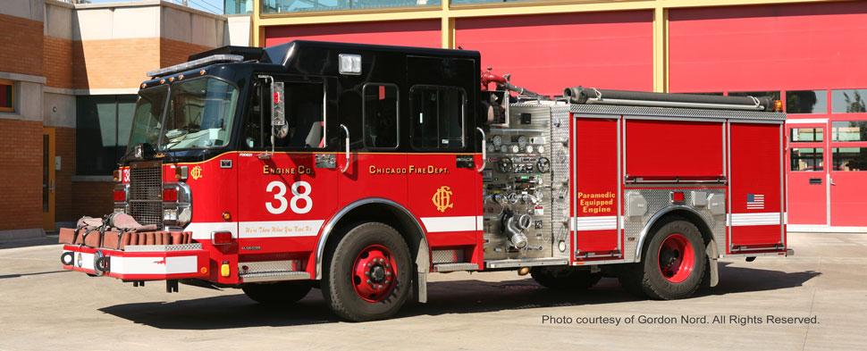 Chicago Fire Department Spartan Engine 38