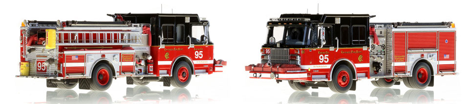 CFD Engine 95 is hand-crafted, limited in production and includes a custom case.