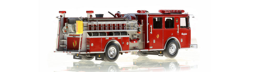Seagrave Commander II replica is limited to 100 units