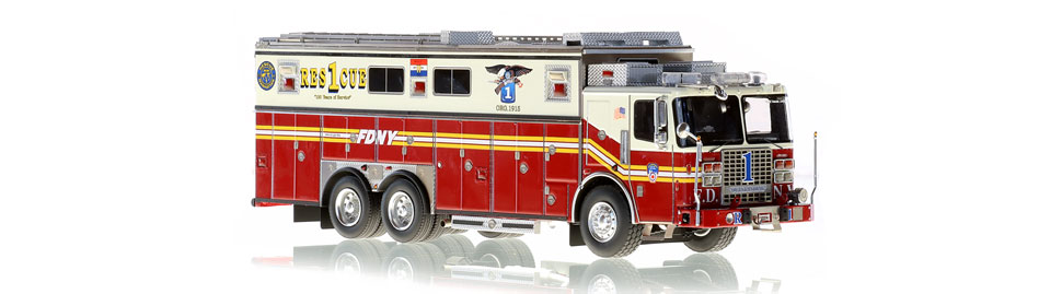 FDNY Rescue 1 features razor sharp accuracy