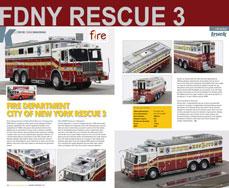 FDNY Rescue 3 scale model