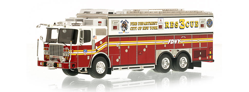 Rescue 3 is hand-crafted using over 600 individual parts.