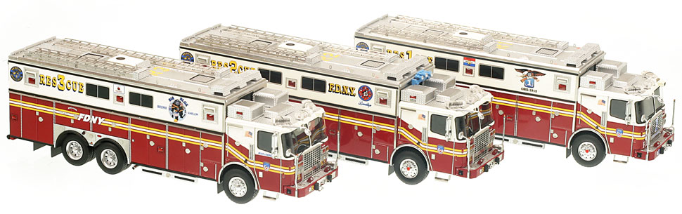 FDNY Rescues are the centerpiece for any elite collector