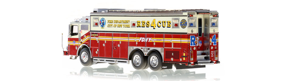 FDNY Rescue 4 is limited to 200 units