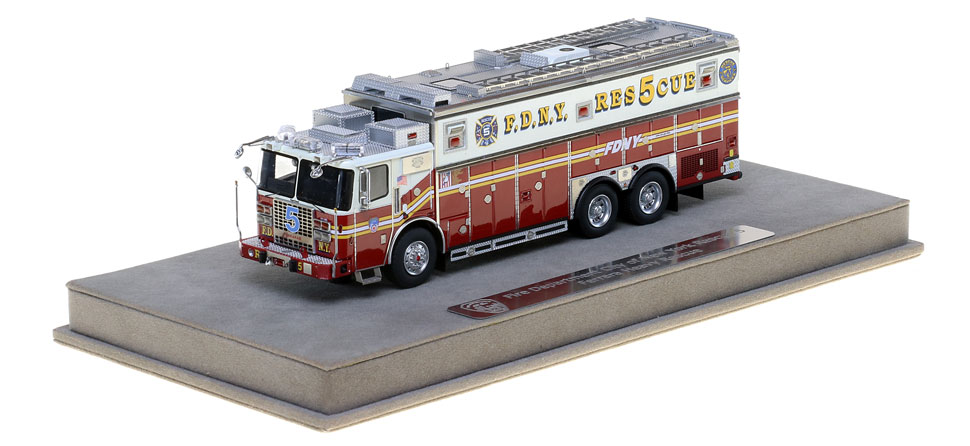 FDNY Rescue 5 is limited to 200 units