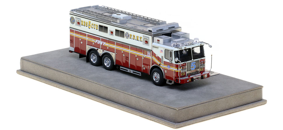 Order your FDNY Rescue 5 replica today!