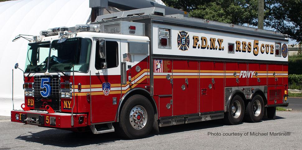 FDNY Rescue 5 courtesy of Michael Martinelli