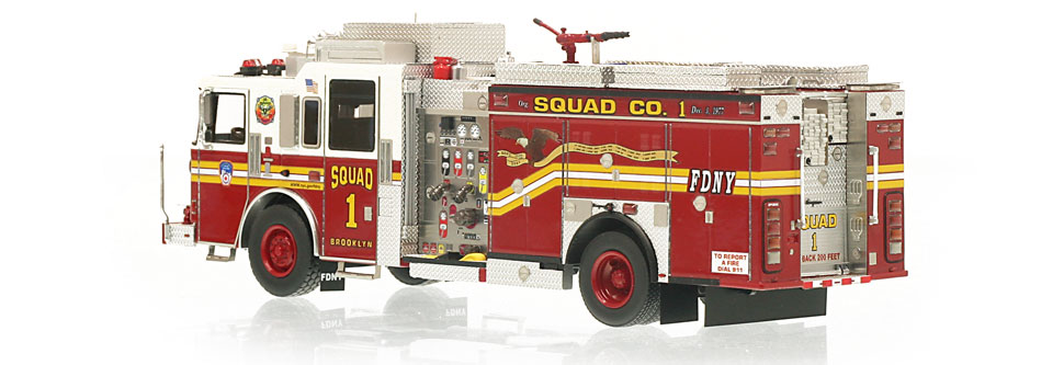 FDNY Squad 1 is limited to 300 units.