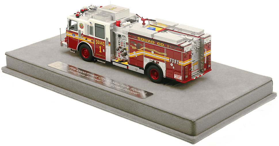Order your FDNY Squad 1 scale model today!