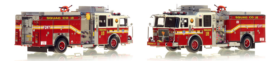 1:50 FDNY Squad 18 scale model