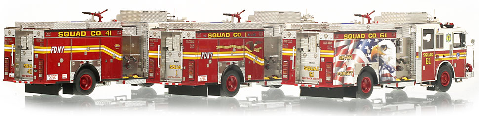 Order your FDNY Squad 3-Piece set today!