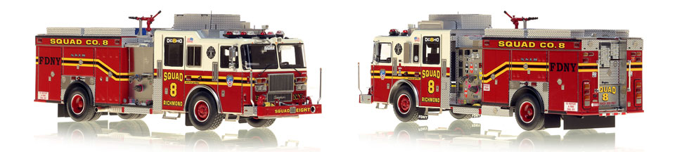 1:50 FDNY Squad 8 scale model