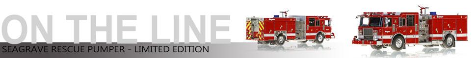 Closeup pics of Limited Edition Seagrave Rescue Pumper scale model