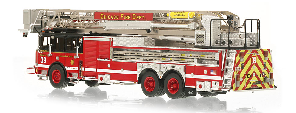 CFD Tower Ladder 39 is limited to 100 units.