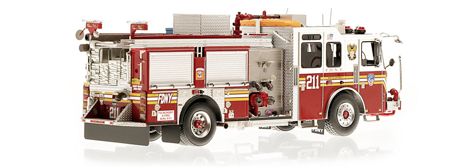 Production of FDNY KME Engine 211 is limited to 140 units.