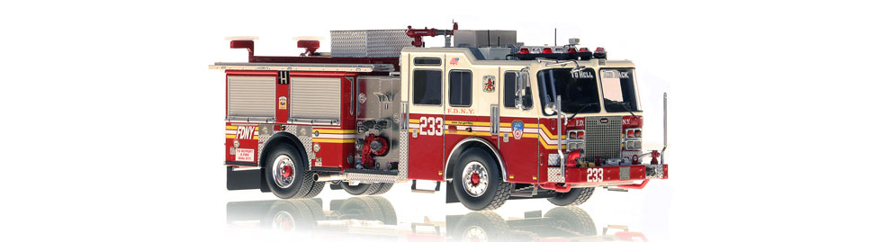 The first museum grade replica of FDNY's KME Engine 233.
