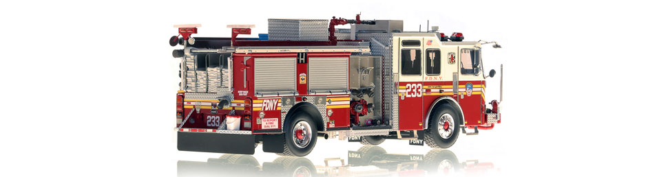 Production of FDNY KME Engine 233 is limited to 75 units.